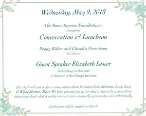 Inaugural Conversation & Luncheon